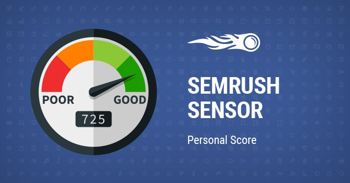 SEMrush Sensor: Keyword Research & SEO Made Easy