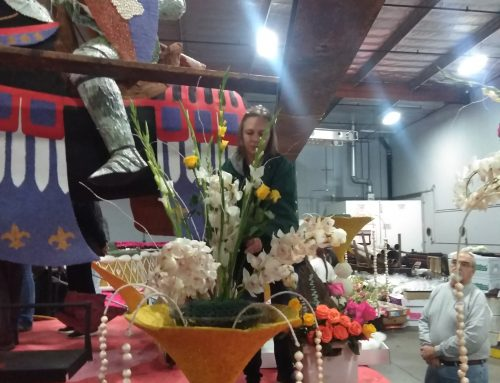 Angela Brown, One of Our Certified Floral Designers, Lends Talent to the 2020 Rose Parade