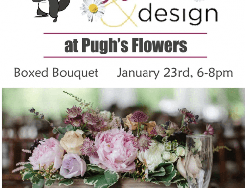 Join Our Wine and Design Event on January 23rd!