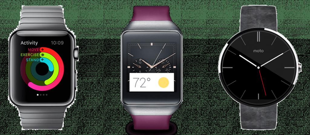 Apple Watch VS Samsung Gear VS Moto 360