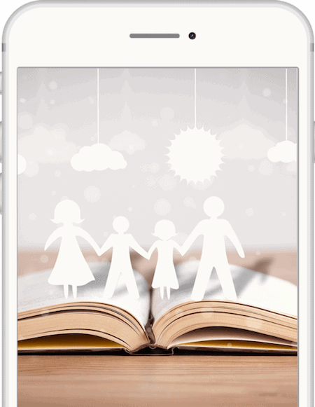 And once you've added enough content, turn your wonderful and unique memories into a lovely personalised Story book to treasure forever!