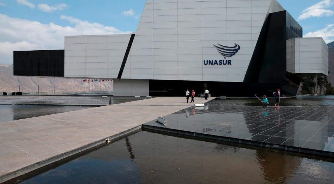 Edificio de UNASUR, en la mira del Ministro de Cultura