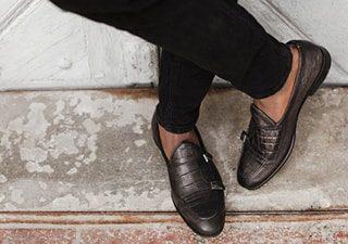 stylowe buty ze skóry