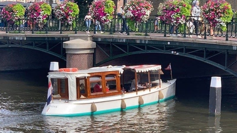 Salonboot 12 personen huren Amsterdam
