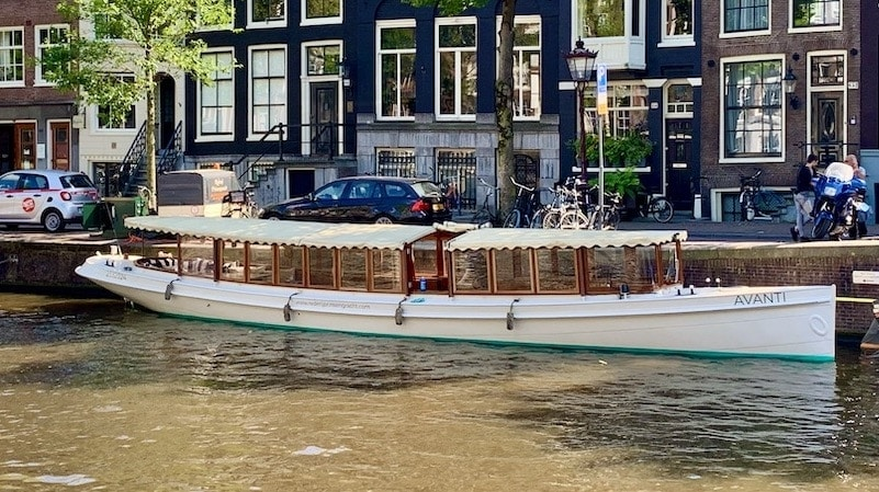 Salonboot huren Amsterdam