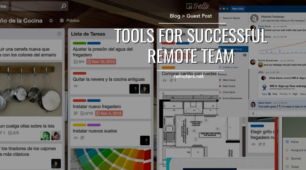 10 Tools For Successful Remote Teams
