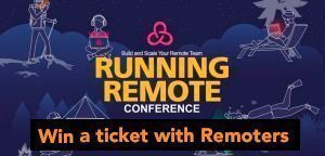 Contest: Win a ticket for the Running Remote Conference 2019 with Remoters