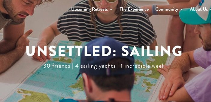 Unsettled: Sailing