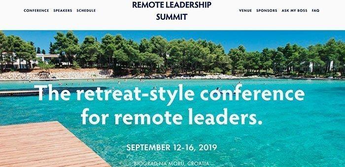 Remote Leadership Summit 2019