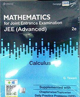 G TEWANI Calculus for JEE Advanced