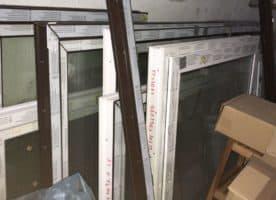 Kunststoff-Fenster 3-fach Verglasung 1095 x 845