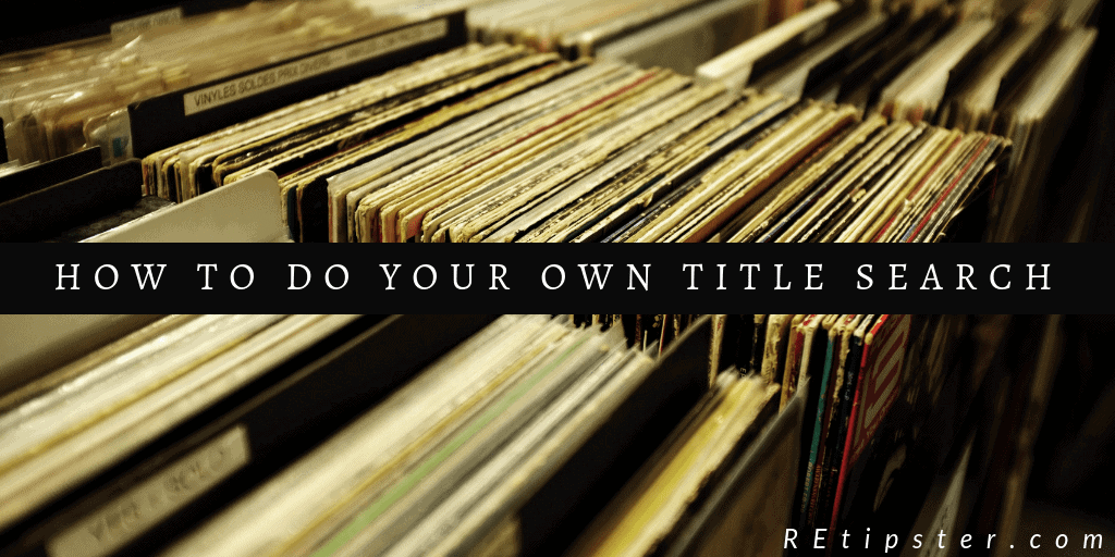 How to do your own title search