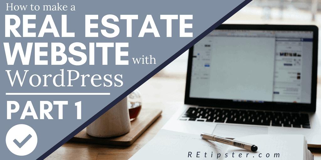 Real Estate Website WordPress Tutorial