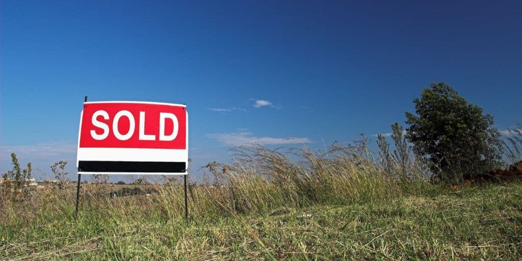 land for sale sold