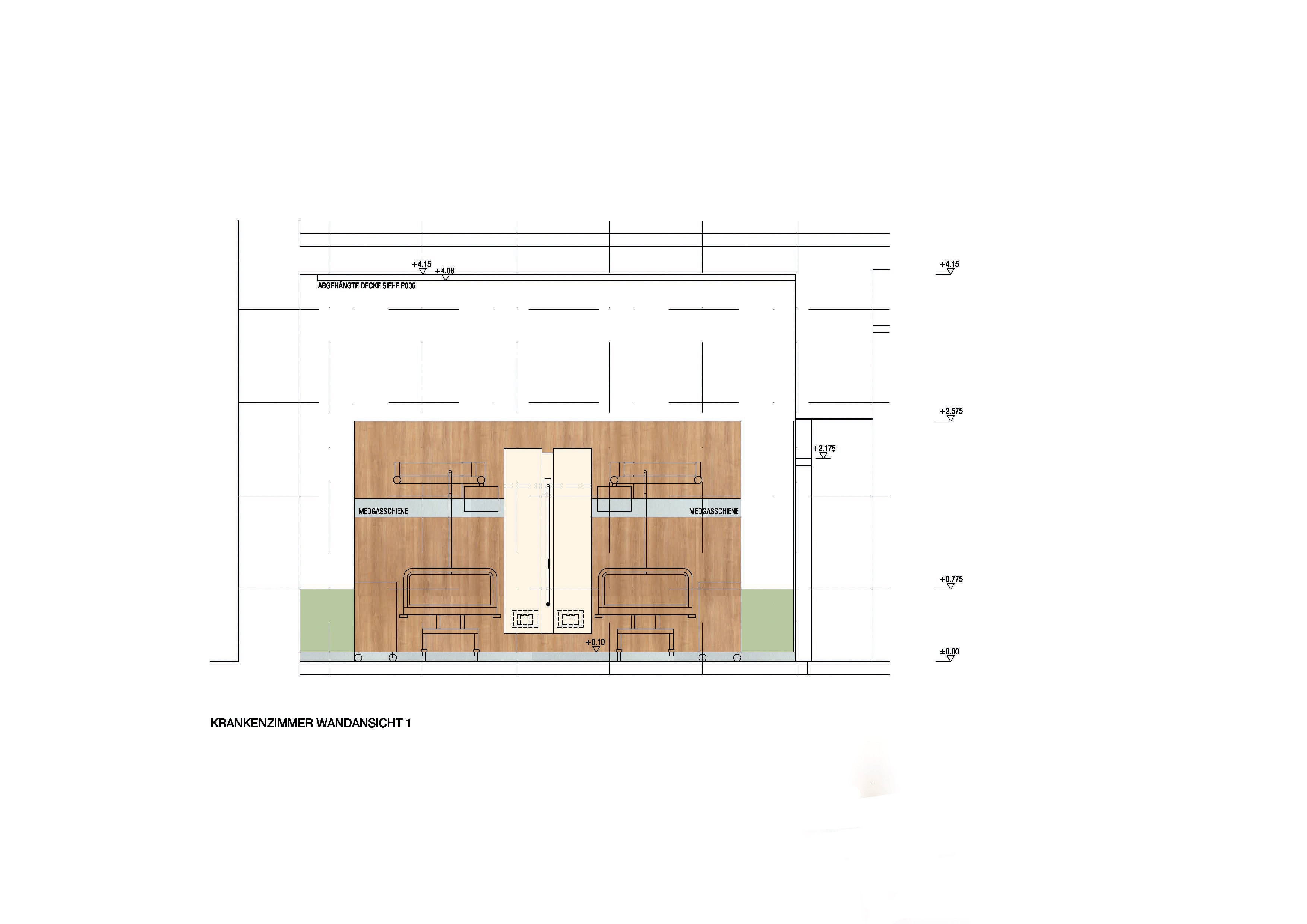 © RUNSER / PRANTL architekten, Wilhelminenspital Pavillon 26A, Stationssanierung, Ambulanz, Stroke Unit und Zubauten