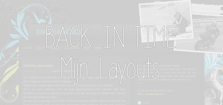 Back in Time: Mijn Layouts