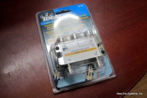 Ideal 4-Way L-Band Cable Splitter