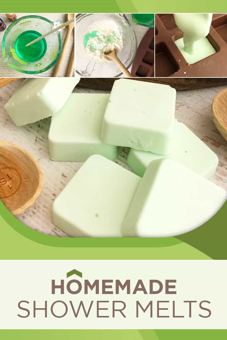 The best shower melts recipe that is similar to a shower soothers DIY. This shower steamers recipe is great if you are curious how to use essential oils in the shower!
