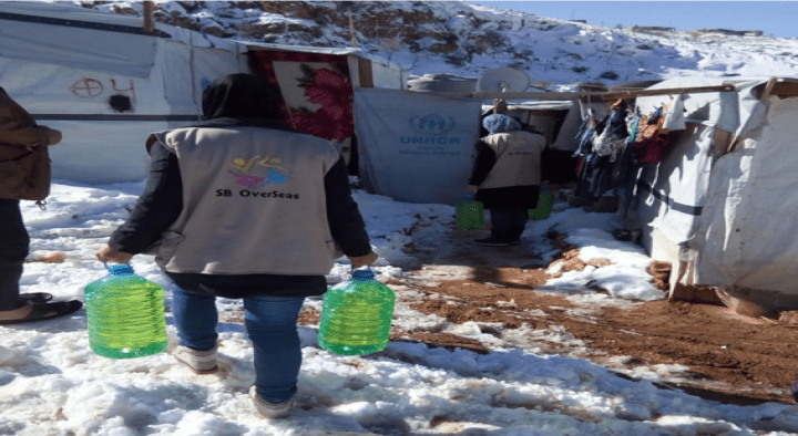 Emergency Aid to Arsal Settlements During Lebanon Storms
