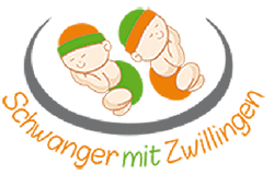 Logo Schwanger mit Zwillingen