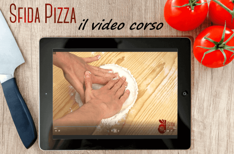 come fare la pizza come in pizzeria:video corso sfidapizza.it