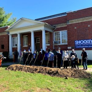 Groundbreaking Held for Rehabilitation and Expansion of Douglas School | Winchester Star