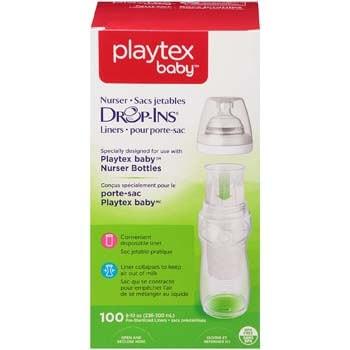 3. Bottle Liners for Playtex Nurser Bottles from Playtex