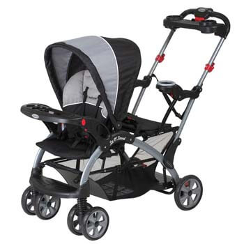 3. Baby Trend Sit N Stand Ultra Tandem Stroller, Phantom