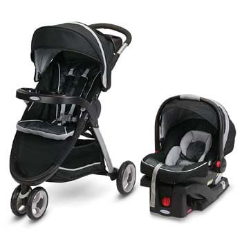 9. Graco FastAction Fold Sport Travel System