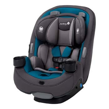 7. Safety 1st Grow and Go 3-in-1 Car Seat, Blue Coral