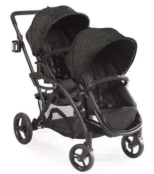 2. Contours Options Elite Tandem Double Toddler & Baby Stroller