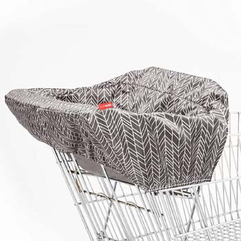 7. Skip Hop Baby Shopping Cart & High Chair Cover