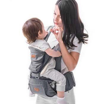 10. SUNVENO Baby Hipseat Ergonomic Baby Carrier
