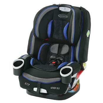 10. Graco 4Ever DLX 4 in 1 Car Seat, Infant to Toddler Car Seat