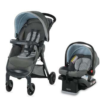 3. Graco FastAction SE Travel System