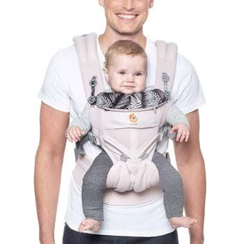 6. Ergobaby Carrier, Omni 360 All Carry Positions Baby Carrier with Cool Air Mesh, Maui