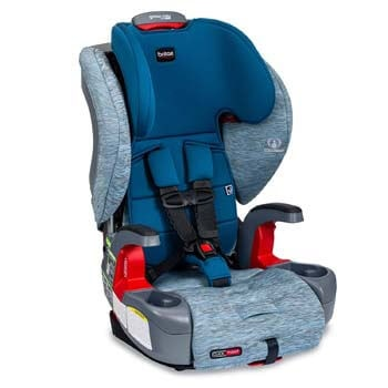 4. Britax Grow with You ClickTight Harness-2-Booster Car Seat | 2 Layer Impact Protection