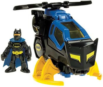 1. Fisher-Price Imaginext DC Super Friends, Batcopter [Amazon Exclusive]