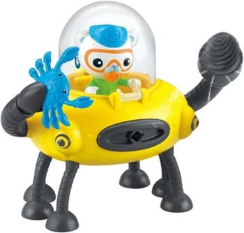 5. Fisher-Price Octonauts Claw and Drill Gup-D Playset