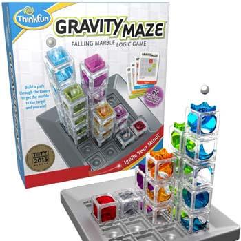 5. ThinkFun Gravity Maze Marble Run Brain Game and STEM Toy