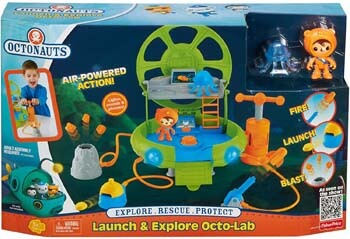 9. Fisher-Price Octonauts Launch and Explore Octo-Lab