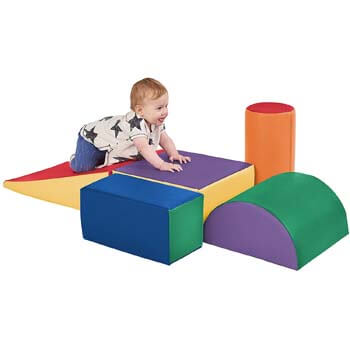 1. ECR4Kids - ELR-12683 SoftZone Climb and Crawl Activity Play Set