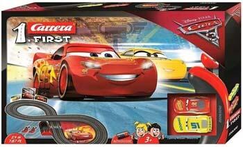 8. Carrera First Disney/Pixar Cars 3 - Slot Car Race Track