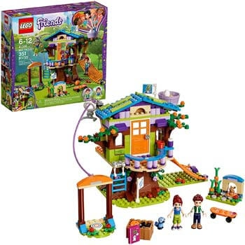 3. LEGO Friends Mia's Tree House 41335 Creative Building Toy Set