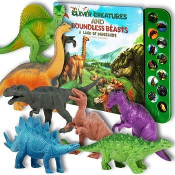 1. Li'l-Gen Dinosaur Toys for Boys and Girls 3 Years Old & Up