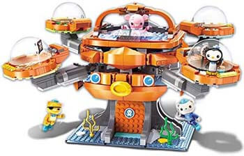 8. Enlighten Octonauts Octo-Pod Octopod Playset & Barnacles