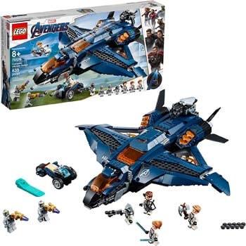 4. LEGO Marvel Avengers. Avengers Ultimate Quinjet 76126 Building Kit (838 Pieces)
