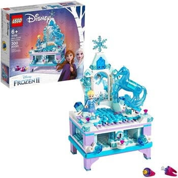 4. LEGO Disney Frozen II Elsa's Jewelry Box