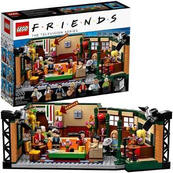 10. LEGO Ideas 21319 Central Perk Building Kit (1,070 Pieces)