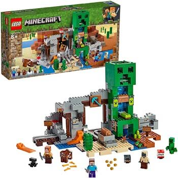 6. LEGO Minecraft the Creeper Mine 21155 Building Kit (834 Pieces)